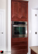 Custom Modular Kitchen Oven/Cabinets in Maple